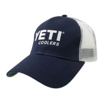 3f6b6e7064e Navy Traditional Yeti Trucker Hat  yeti