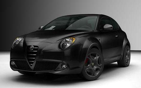 Alfa Romeo MiTo nero limited