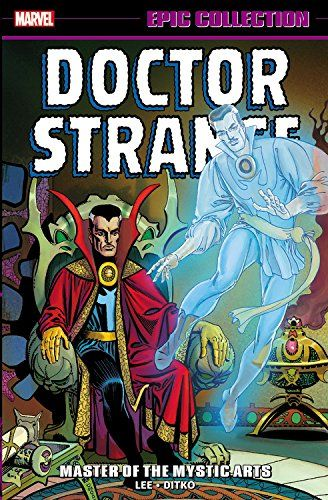 Pin By Ebook Dominika Pdf On Covers Marvel Comics Doctor Strange Mystical Art Marvel Epic Collection