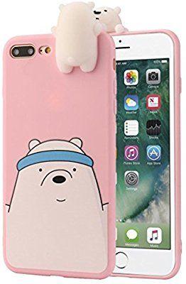 iPhone 6s Plus Funda iPhone 6 plus Caso 3d Dibujos Animados