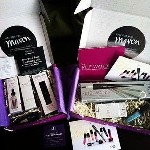 Beauty box de chez Marven