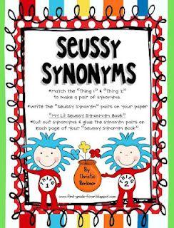 Seussy Synonyms freebie-too cute!!
