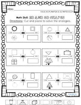 Math Analogies To Increase Rigor In Kindergarten And First Grade