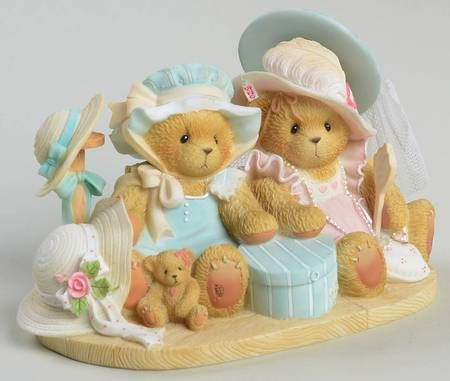 Charity /& Love plaques Cherished Teddies by Enesco collectible figurines; Faith