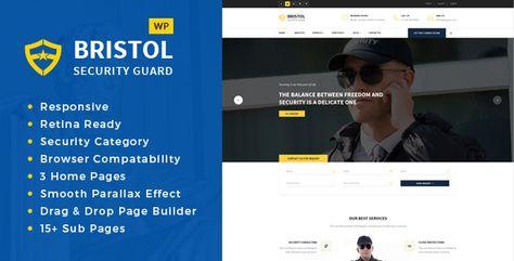 Bristol Security Guarding Services Wordpress Theme Security