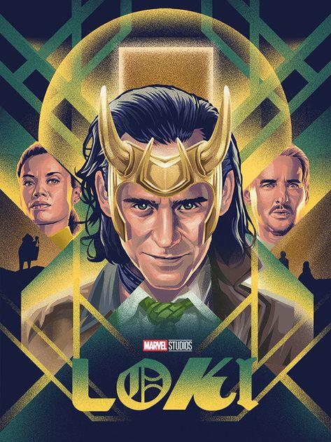 Loki by Tsaqif Baihaqi - Home of the Alternative Movie Poster -AMP-