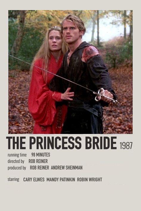 The Princess Bride polaroid movie poster