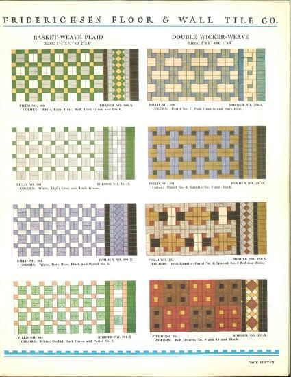 Friderichsen Floor & Wall Tile Co  : Friderichsen Floor & Wall Tile