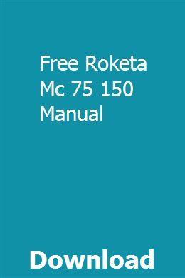 Free Download Roketa Mc 75 150 Manual Repair Manuals Manual Dyna Wide Glide
