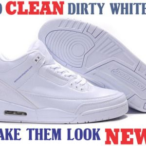 Pinterest: @icristy13| Use This Simple Trick to Clean Your Dirty White Shoes  and Make Them White Again! | ✿ DIY & Crafts ✿ | Pinterest | Life hacks, ...