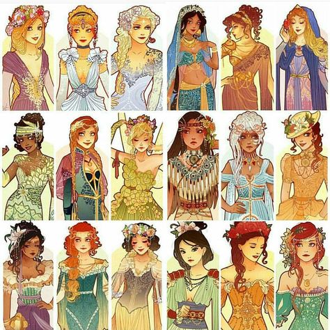 Here's a repost 'cause I hear it's D23 this weekend. Hopefully next year I will go. If you're cosplaying my designs I would loooove to see pics so please tag me!! And have fun!! #disneyprincess #disneyfanart #fanart #art #d23 #d23expo #disney #hannahalexander
