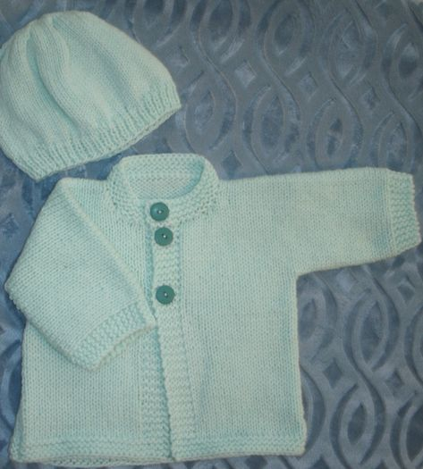 d77bd45e51a7 SOLD - Baby Sweater Set -