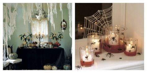 Déco Intérieur Maison Halloween Idée Toile Du0027araignée Originale
