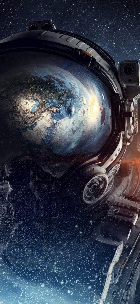 Iphone Xs Max Wallpaper 4k Black 3d Wallpapers Space Artwork Space Art Astronaut Art