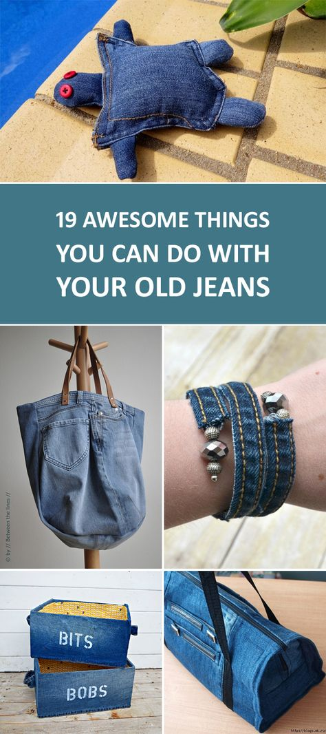 19 Awesome Things You Can Do with Your Old Jeans  b0b8728441574