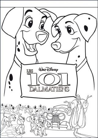 101 Dalmatiner Ausmalbilder Cartoon Coloring Pages Cool Coloring Pages Mermaid Coloring Pages