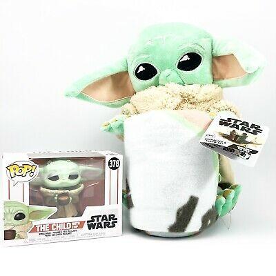 child baby yoda plush pillow fleece
