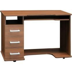 Schreibtisch Rosario 37 Farbe Nuss 76 X 110 X 60 Cm H X B X T Easy Mobel Easy Farbe In 2020 Storage Spaces Commercial And Office Architecture Desk Storage