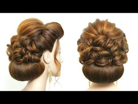 New Wedding Hairstyle For Long Hair Bridal Updo With Low Bun Youtube Bridal Hair Updo Wedding Hairstyles For Long Hair Wedding Guest Hairstyles