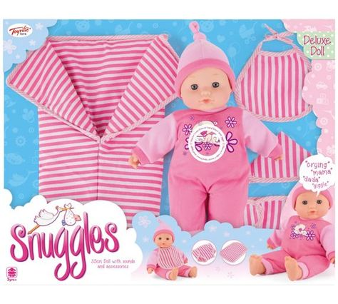 new styles 6ff56 1e3c6 Buy Snuggle Soft Doll with Sleeping Bag at Argos.co.uk ...