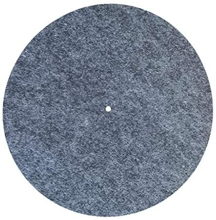 Wenwing Felt Turntable Durable Anti Static Anti Vibration Platter Mat Lp Slip Mat Audiophile Vinyl Records Vinyl Record Player Vinyl