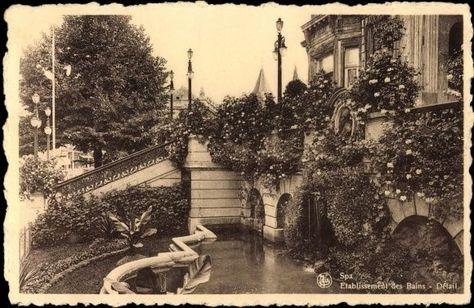 Ak Spa Lüttich Belgien, Etablissement des Bains - 336285 in Sammeln & Seltenes, Ansichtskarten, Europa   eBay