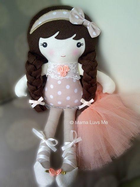 Handmade doll - by mamaluvsme on madeit