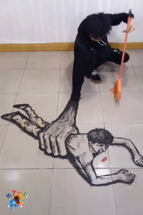 When you love art, but your parents start cleaning the house
