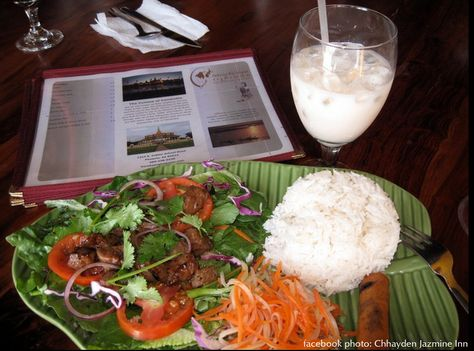 Reathrey Sekong. Cambodian fare, located in Central Phoenix. Our second favorite restaurant.