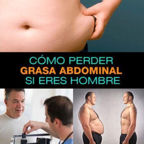 Dieta para disminuir abdomen hombres