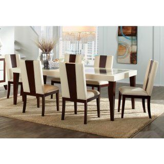 Dining Room Furniture Zeno 7 Piece Dining Package Farmhouse