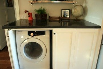 Washing Machine Kitchen Design Ideas, Pictures, Remodel And Decor | Hidden Washing  Machines | Pinterest | Washing Machine, Kitchen Design And Kitchens Part 70
