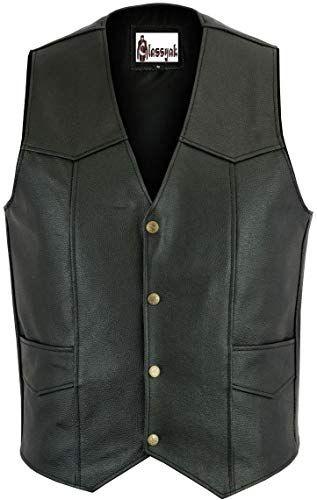 Classyak Mens Fashion Stylish Genuine Leather Jacket