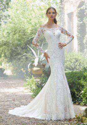 Priscilla Wedding Dress Morilee Fit Flare Wedding Dress