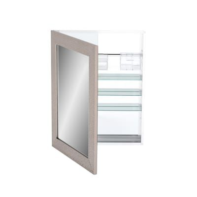 Home Decorators Collection 24 In W X 30 In H Fog Free Framed Recessed Or Surface Mount Bathroom Medicine Cabinet In Brushed Nickel 45427 The Home Depot Bathroom Medicine Cabinet Surface