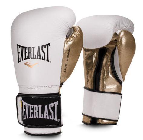 Black//Gold 1 Everlast Powerlock Training Glove Blk//Gld Powerlock Training Gove