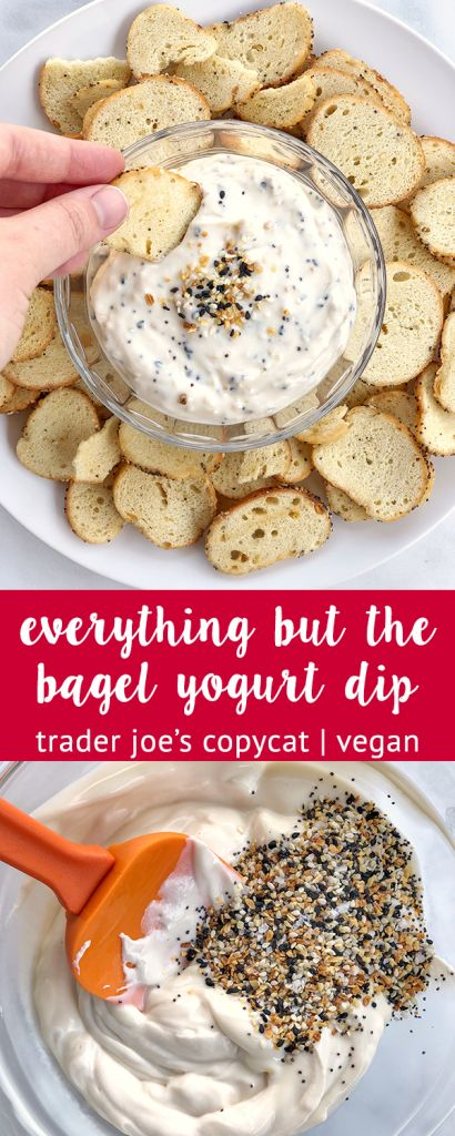 Copycat Trader Joe S Everything But The Bagel Yogurt Dip The Urben Life Make Your Own 3 Ingredient Copycat Trader Joe S Everything But The Bagel Yogurt Dip I Recipe Low Carb
