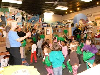 Movement activities to go along with children's books