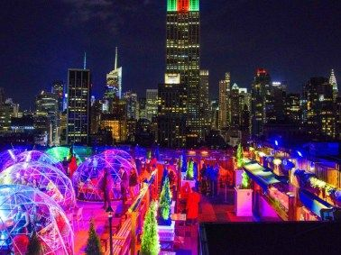 230 Fifth Rooftop Igloo Bar Is Open For The Season Rooftop