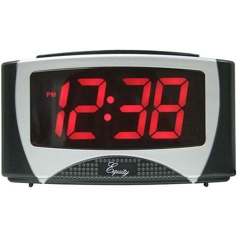 Digital Alarm Clock Large Led Display Electric Timer Snooze Dorm
