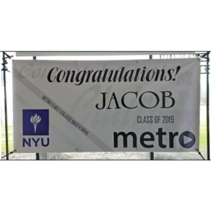 Graduation Banners To Fit Every Budget Graduation Banner Banner High School