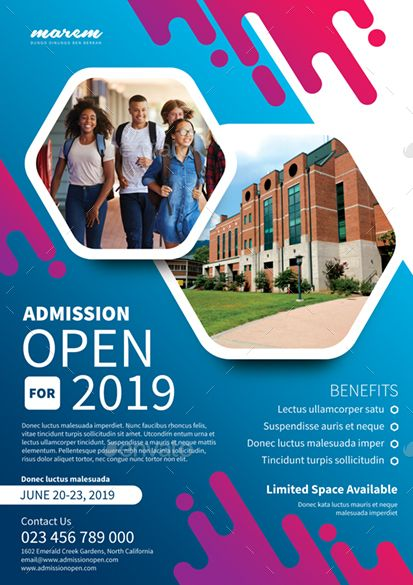 Admission Open #Admission, #Open | Infographic Design Ideas ...