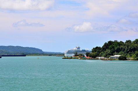 Gatun Lake in Panama
