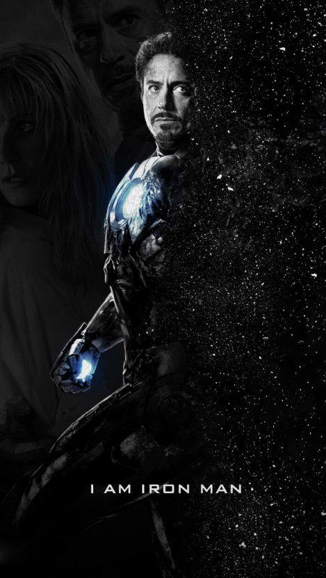 I Am Iron Man Tony Stark Poster Iphone Wallpaper Iphone