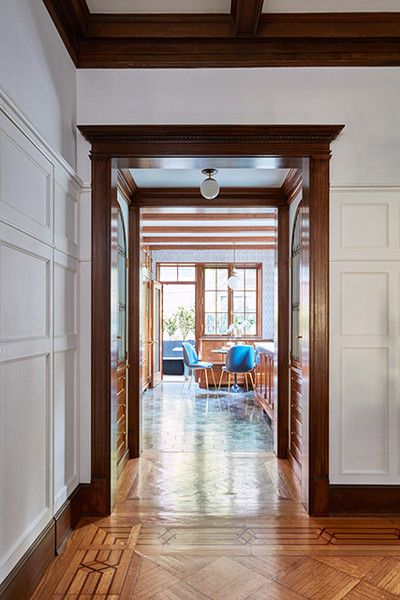 Open Plan - A 1900s Park Slope Limestone That Perfectly Blends Traditional And Modern  - Photos
