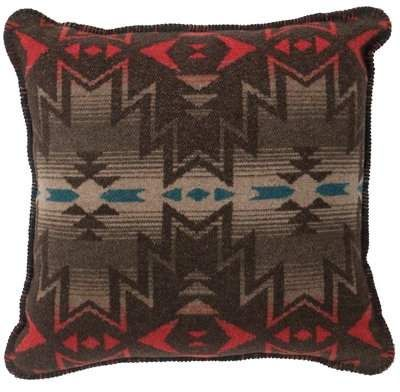 Millwood Pines Twitchell Throw Pillow Throw Pillows Leather