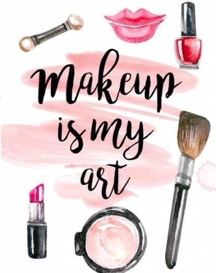 Makeup Wallpaper Brushes 40 Ideas Makeup Wallpapers Makeup Illustration Makeup Drawing