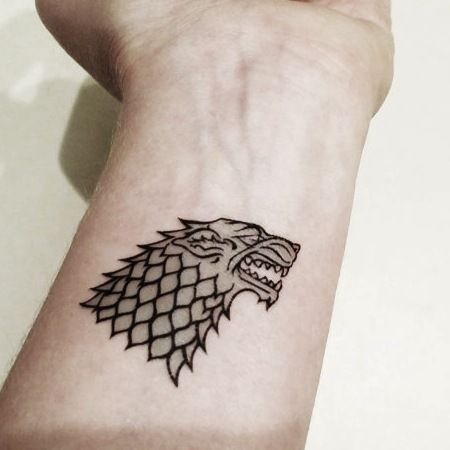 0c8e05563 34 Best Game Of Thrones Tribute Tattoos | Inked Out | Game of ...