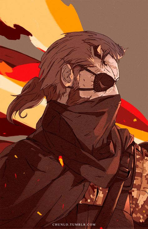 Chun Lo — Spent some time making a Metal Gear Solid V...