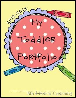 Toddler Portfolios